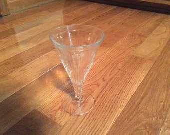Fostoria baroque footed water goblet clear