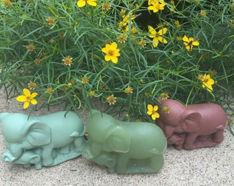 Custom Handcrafted Elephants Soap