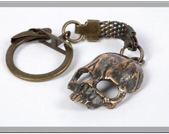 Keychain Skeleton mask