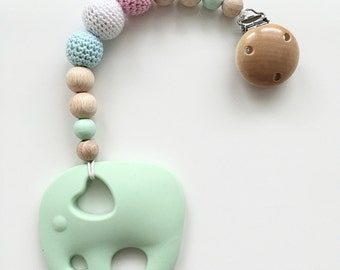 Bite necklace in pastel shades