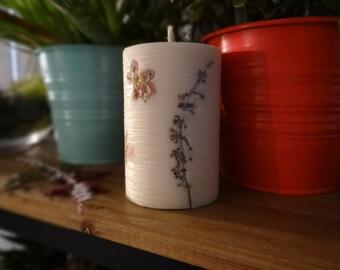 Candle flower vintage