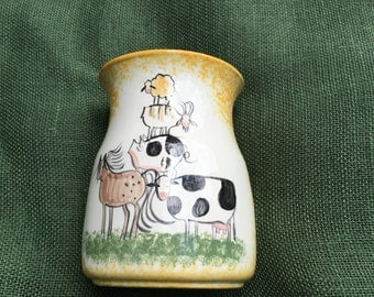 Molly Dallas Spatterware Utensil Jar