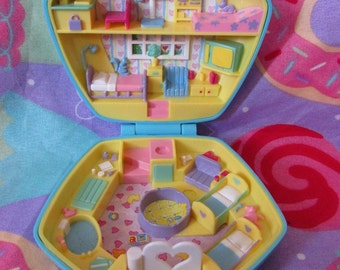 "1992 Polly Pocket ""Polly in the Nursery"""