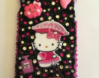 Iphone 6+ cute kitty decoden case