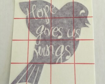 Hope Gives Us Wings