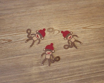 Sock Monkey Party Confetti