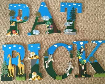 Childs Name Letters