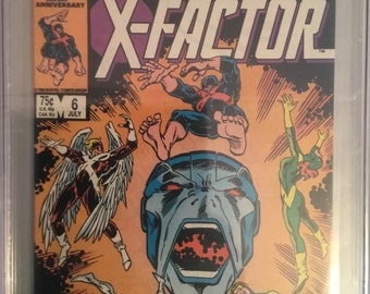 First Apocalypse X-Factor 6   signed CGC 9.2 Signature Series