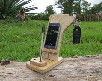 iphone stand,iphone dock,wood Android stand,cell phone stand,Charging Station iPhone Dock Station,iPhone Valet,Docking Station,iphone 5