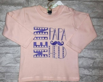 "Long-sleeved T-shirt ""My dad"""