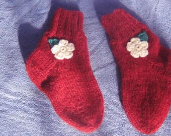 Knitted Baby Socks,baby socks, child knit socks, Cute baby socks.Baby booties