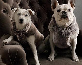 Faux Fur Dog Coat