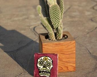 Dia de los Muertos Magnet: Small Sugar Skull