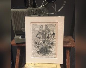 Millenium Falcon Print