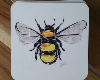 Bumblebee coaster