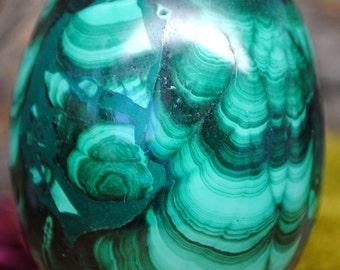 Malachite Crystal Egg -  1179.62