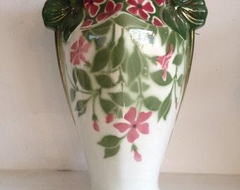 Art Nouveau vase, k & g Luneville-France