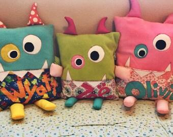 Little Monster - Reading Buddy - Pillows
