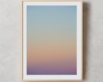 Sunset Photography Print, Printable Wall Art, Photography, Wall Art, Ocean, Digital Download, Sunset, Sunrise, Coastal, Tropical Beach, Sky