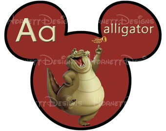 printable Disney alphabet cards