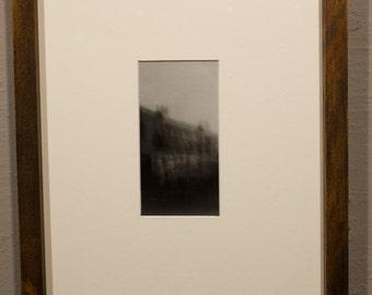 A Conscious Slumber - Black and White, Pinhole photograph, architecture, alt process
