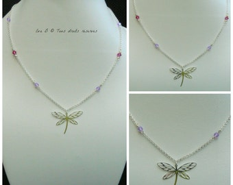 """Necklace """"Dragonfly"""""""