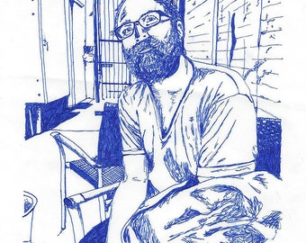 Custom Portrait: Pen & Ink