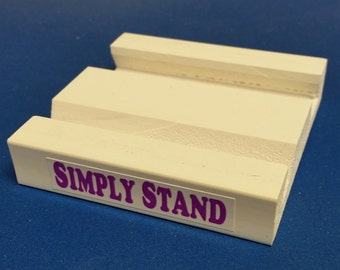 SIMPLY STAND, works for Kindle eReaders, iPads, Android/Samsung Tablets. Great for Office, Home and School.