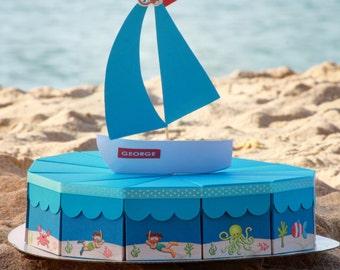 Under the Sea Paper Cake