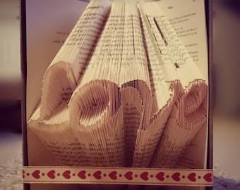 Love Bookfolding Pattern