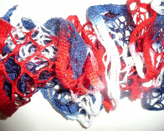 Sashay Scarf - Red, White, and Blue! Patriotic, 4th of July