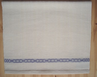 Hand weaved linen tea towel