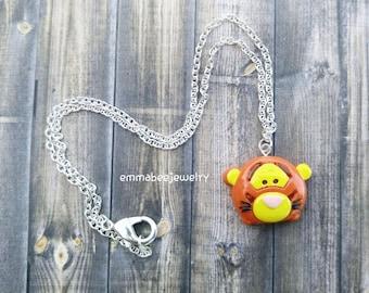 Disney Tigger Tsum Tsum Necklace