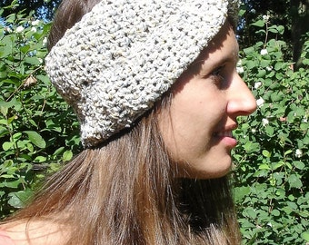 Grey bouclé hair Band/hat-size S