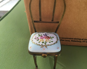 Limoges France  chair