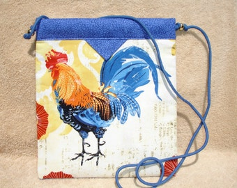 Rooster Cross Body Snap Bag Purse, Handmade, Novelty, Great Gift Idea, Bags & Purses