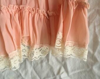 Vintage Lacey Pink Dress