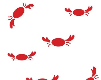 Nautical Crab Print