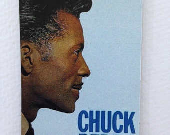Chuck Berry Magnet Rock N' Roll Legend Guitar Badass