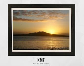 Takapuna Sunrise: Print 036
