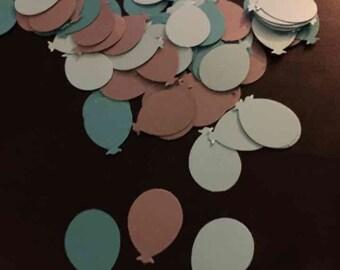 Balloon table confetti