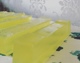Lemon and lime soap bar