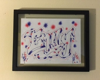 Framed Handmade Art