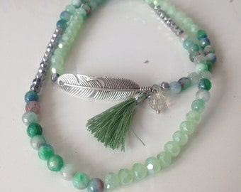 MYC PARIS - feather Bracelet