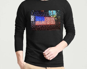 AEDRAN: 'Independence' -Graphic Long Sleeve Tshirt