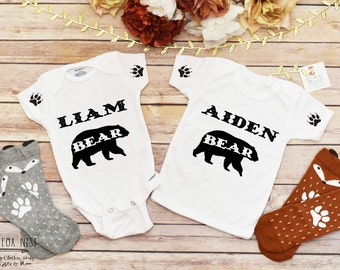 Personalized Baby Gift, Baby Boy Outfit, Baby Boy Clothes