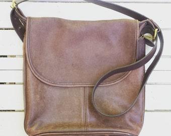1990's Coach 'Whitney's Legacy' shoulder bag - dark tan