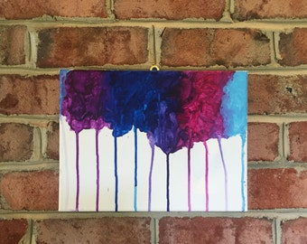 Color Drip Painting