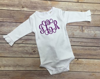 Baby Girl bodysuit, Personalized bodysuit, Baby Girl gift, Welcome Home Baby, Baby Gift, Personalized Baby Gift