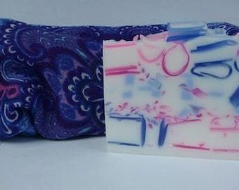 Lilac Tape - Handmade Glycerin Soap